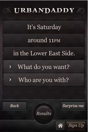 App to look for Urban Daddy Mobile 1