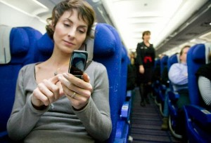 Mobile phone usage in flight