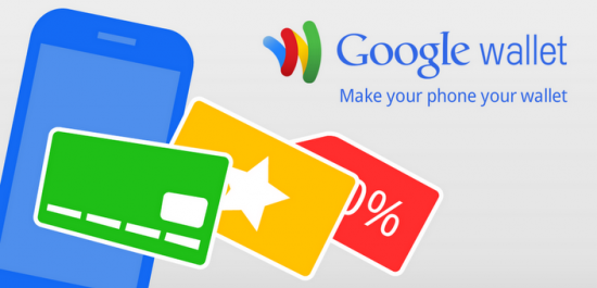 Google wallet card and app