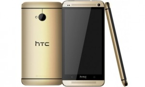 New 2014 HTC One Gold