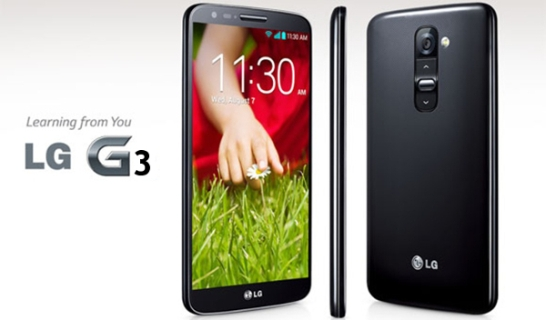 The new LG G3