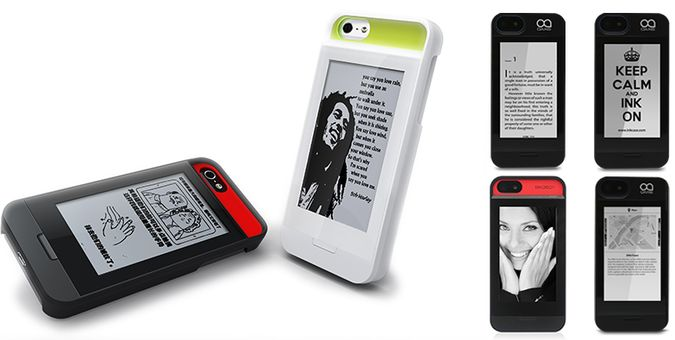 InkCase-by-Oaxis-iPhone-5-Case-With-Seconday-e-Ink-Screen-Pictures-eInk-Reader-Notifications-And-Reminders
