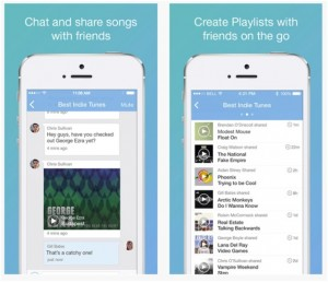 Soundwave app makes it possible for you to chat and share your music with friends