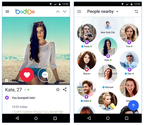 difference between badoo and blender dating app