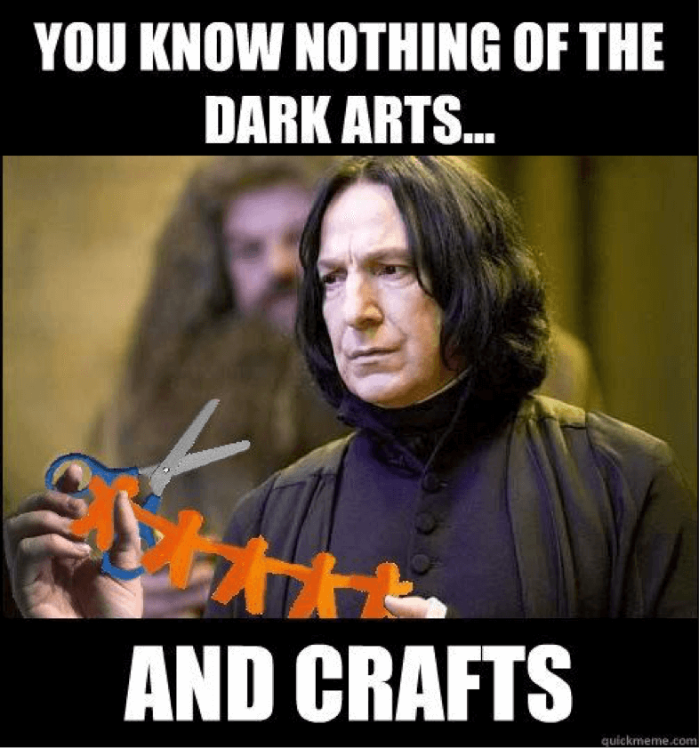 Harry potter memes top mobile trends for Good arts and crafts