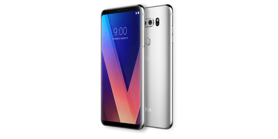 top 5 android phones lg v30