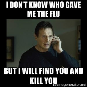 cold and flu memes
