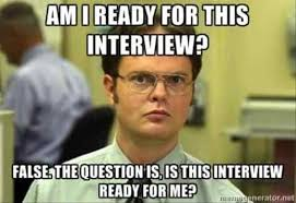 job interview memes